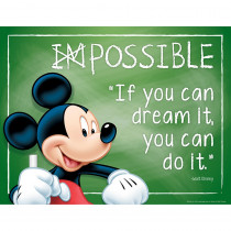 EU-837040 - Mickey Possible 17X22 Poster in Classroom Theme