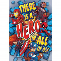 EU-837115 - Marvel Super Hero In 13X19 Poster in Classroom Theme
