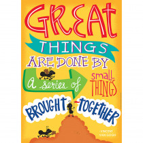 EU-837129 - Great Things Are Done 13X19 Posters in Inspirational