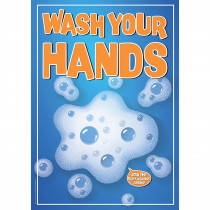 EU-837140 - Wash Your Hands 13X19 Posters in Miscellaneous