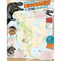 EU-837260 - Smithsonian Are There Dinosaurs In Yourbckyrd 17X22 Posters in Science