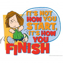 EU-837419 - Peanuts How You Finish 17 X 22 Posters in Motivational