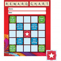 EU-837427 - Scrabble Stars Mini Reward Chart in Incentive Charts