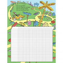 EU-837441 - Dr Seuss Reading Chart 17X22 Poster in Incentive Charts