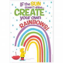 "Growth Mindset Create Your Own Rainbows Poster, 13 x 19"" - EU-837498 