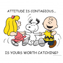 EU-837530 - Peanuts Attitude Poster in Classroom Theme