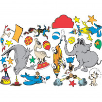 EU-840158 - Dr Seuss - If I Ran The Circus 2-Sided Deco Kit in Two Sided Decorations