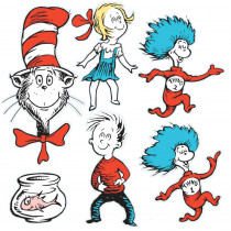 EU-840226 - Large Dr Seuss Characters 2-Sided Deco Kit in Two Sided Decorations