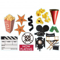 EU-840312 - Movie Theme 2-Sided Deco Kit in Two Sided Decorations