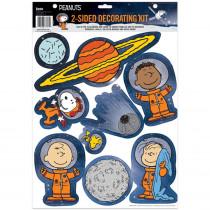 Peanuts NASA 2-Sided Deco Kit - EU-840400 | Eureka | Two Sided Decorations