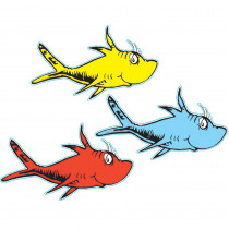EU-841218 - Dr Seuss One Fish Two Fish Paper Cut Outs in Accents