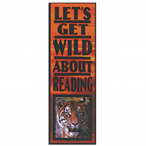 EU-84334 - Bookmarks Wild About Reading in Bookmarks