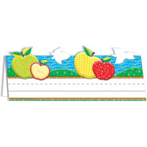 EU-843761 - Color My World Tented Apple Name Plates in Name Plates