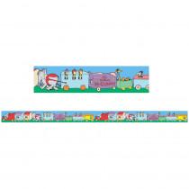 EU-844913 - Dr Seuss If I Ran The Circus Trains Deco Trim in Border/trimmer