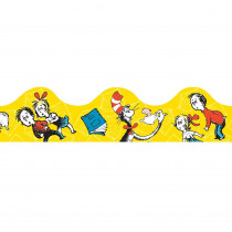 EU-845018 - Cat In The Hat Yellow Deco Trim in Border/trimmer