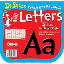 EU-845033 - Dr Seuss Punch Out Deco Letters Blk in Letters
