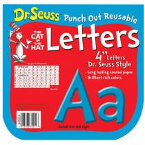 EU-845034 - Dr Seuss Punch Out Deco Letters Blu in Letters