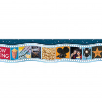 EU-845037 - Movie Film Die Cut Deco Trim in Border/trimmer