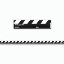 EU-845134 - Hollywood Clapboard Deco Trim in Border/trimmer