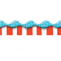 EU-845146 - Dr Seuss Dimensional Look Extra Wide Deco Trim in Border/trimmer