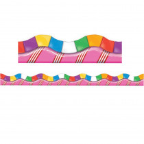 EU-845152 - Candy Land Dimensional Look Extra Wide Die Cut Deco Trim in Border/trimmer