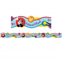 EU-845209 - Mickey Mouse Clubhouse I Think I Can Extra Wide Die Cut Deco Trim in Border/trimmer