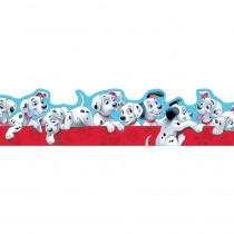 EU-845211 - 101 Dalmatians Puppies Extra Wide Die Cut Deco Trim in Border/trimmer