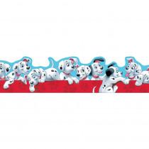 EU-845211 - 101 Dalmatians Puppies Extra Wide Die Cut Deco Trim in Border/trimmer