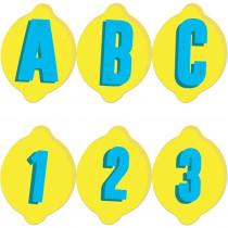 Always Try Your Zest Deco Letters, 243 Pieces - EU-845638 | Eureka | Letters