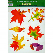 EU-84652 - 2-Sided Leaves in Two Sided Decorations