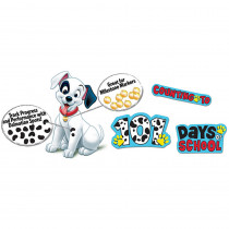 EU-847013 - 101 Dalmatians Spot On Counting Bulletin Board Set in Classroom Theme