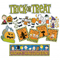 EU-847031 - Peanuts Halloween Mini Bulletin Board Set in Holiday/seasonal