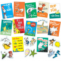 EU-847041 - Seuss Books Mini Bulletin Board Set in Classroom Theme
