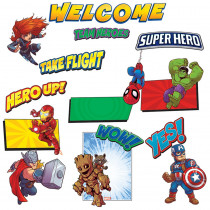 EU-847042 - Marvel Super Hero Adventure Welcome Bulletin Board Sets in Classroom Theme