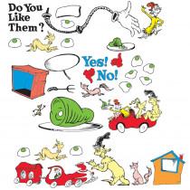 EU-847223 - Dr Seuss Green Eggs And Ham Bulletin Board Set in Classroom Theme