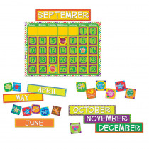 EU-847545 - A Sharp Bunch Calendar Bulletin Board Set in Classroom Theme