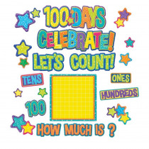 100 Days Bulletin Board Set - EU-847549 | Eureka | Classroom Theme