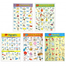 EU-847629 - Dr Seuss Phonics Bulletin Board Set in Classroom Theme