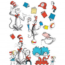 EU-847637 - Bulletin Board Set Cat In The Hat Large Characters in Classroom Theme
