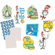 EU-847638 - Cat In The Hat Reading Goal Kit in Classroom Theme