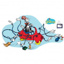EU-847674 - Dr Seuss Giant Cat In Car Bulletin Board Set in Holiday/seasonal
