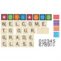 EU-847697 - Scrabble Welcome To Our Class Mini Bbs in Classroom Theme