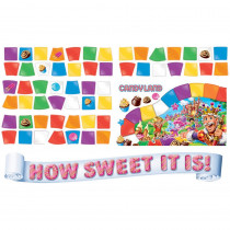 EU-847699 - Candy Land How Sweet Mini Bulletin Board Set in Classroom Theme