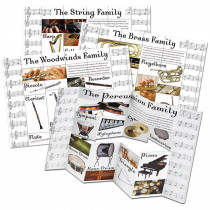 EU-847743 - Musical Instrument Categories Dimensional Bulletin Board Set in Miscellaneous