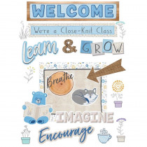 A Close-Knit Class Welcome Set Bulletin Board Set - EU-847787 | Eureka | Classroom Theme