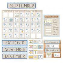 A Close-Knit Class Calendar Set Bulletin Board Set - EU-847788 | Eureka | Calendars