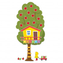 A Teachable Town Large Seasonal Tree House Bulletin Board Set - EU-847796 | Eureka | Classroom Theme