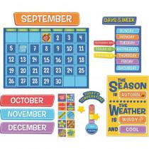 A Teachable Town Calendar Bulletin Board Set - EU-847799 | Eureka | Calendars