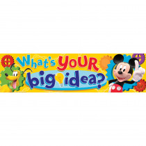 EU-849001 - Mickey Mouse Clubhouse Whats Your Big Idea Classroom Banner in Banners