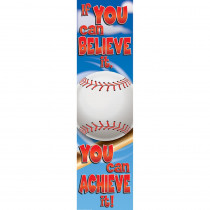 EU-849023 - Baseball Motivational Banner 4Ft in Banners